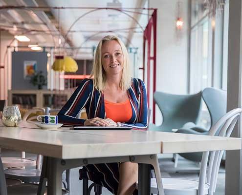 Britt Linqvist, Vasakronan